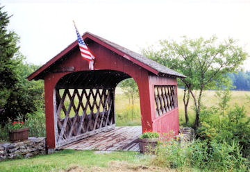 High Mowing Farm Bridge. Photo by Dan Brock