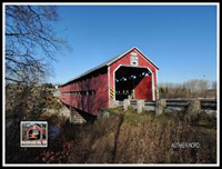 Canadian covered bridge