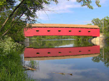Buskirk Bridge, photo by Dick Wilson, May 30, 2005
