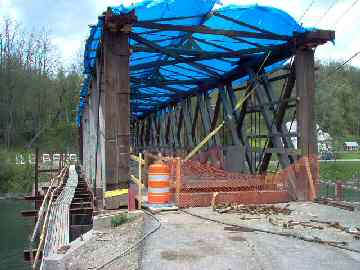 Buskirk Bridge. Photo by Dick Wilson, June 19, 2004