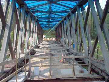 Buskirk Bridge. Photo by Dick Wilson, July 5, 2004