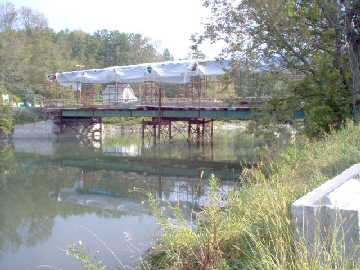 Buskirk Bridge, photo by Dick Wilson, August, 2004