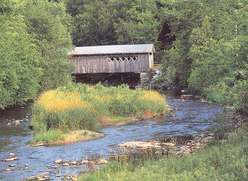 Comstock Bridge, Photo by Joe Nelson, 1997