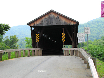 Downsville Bridge. Photo by Bill Caswell, July 23, 2012