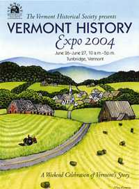 Vermont Historical Society Expo 2004.