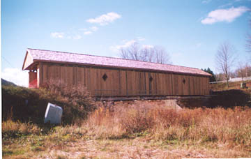 Fitches Bridge. Photo by Bob and Trish Kane, October 28, 2001