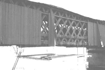 Fitches Bridge. Photo supplied by Phil Pierce, March 9, 2001