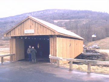 Fitchs Bridge. Photo by Dick Wilson, December 20, 2001