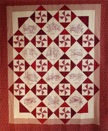 Franklin county quilt raffle picture