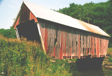 Gifford Bridge. Photo by Joe Nelson July 20, 1995