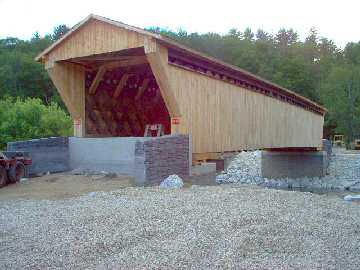 Gorham Bridge. Photo by Dick Wilson, June 20, 2004