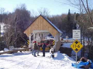 Greenbanks Hollow Bridge. Photo by Mert Leonard, Dec. 4, 2002.