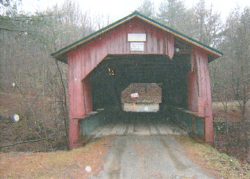 Hutchins Covered Bridge. Photo by HTA