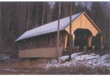 The Irasburg Covered Bridge Replica