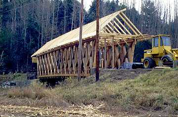 The Irasburg Covered Bridge Reconstruction
