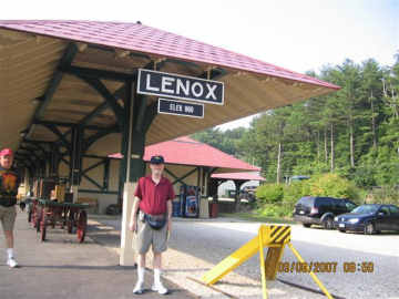 Lenox Station and Tom.