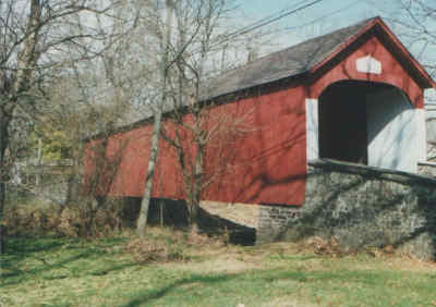Knecht's Bridge. Photo by R. Johnson, 1996