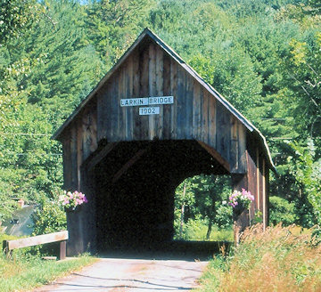 Larkin Bridge. Photo by Joe Nelson July 1, 1995