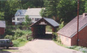 Mill Bridge as it was. Photo by J. Nelson, June 1993