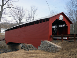 Parr's Mill PA covered bridge