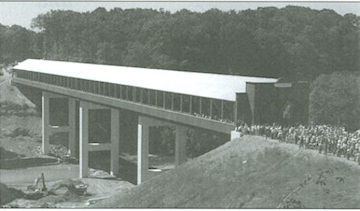 Smolen-Gulf Bridge Dedication photo