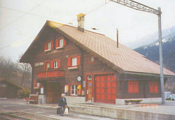 St. Peter Bahnhof. Photo by Lisette Keating April, 2005