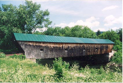 Hammond Covered Bridge, Pittsford: Photo by Richard E. St.Peter