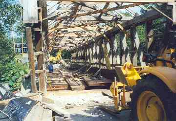 Union Village Bridge. Photo by N. David Charkes, August, September, 2002