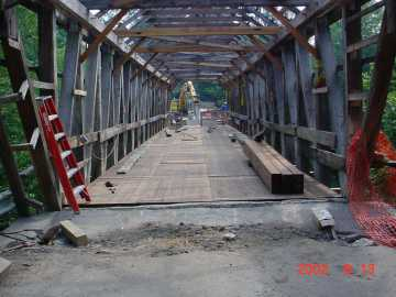 Union Village Bridge. Photo by Tom Chase 8/13/02